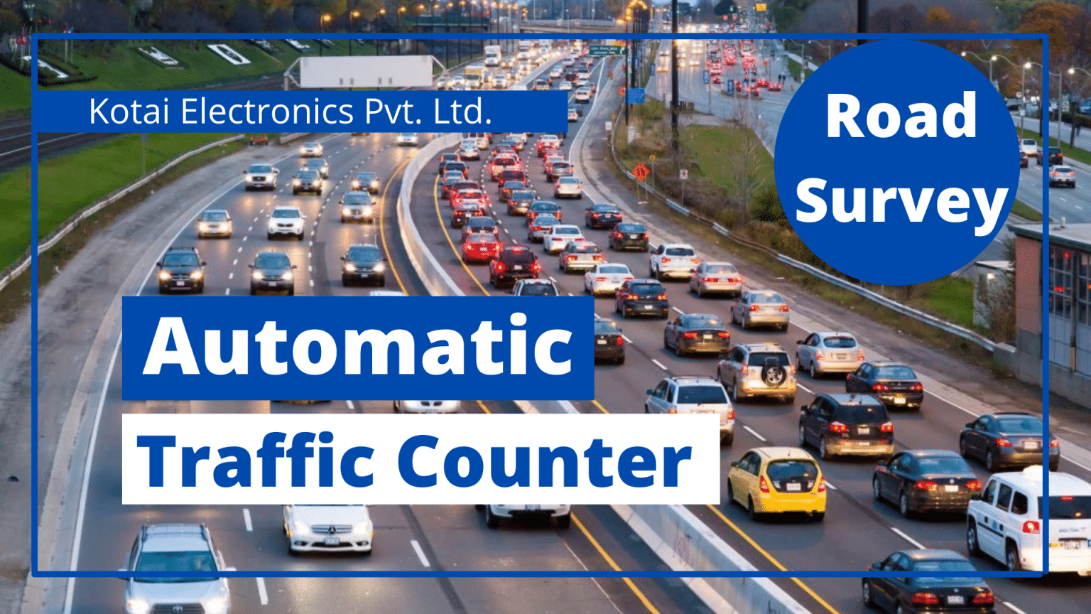 Automatic Traffic counter buy in India