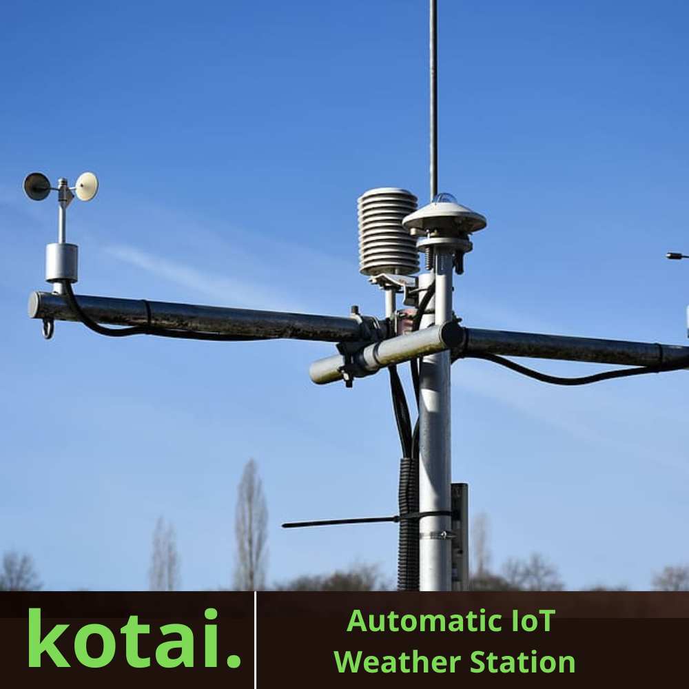 Automatic IoT Weather Station In India