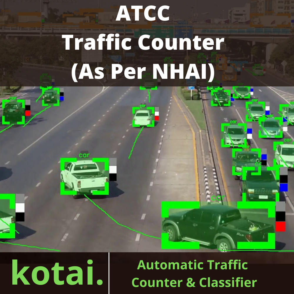 Automatic Traffic Counter and Classifier