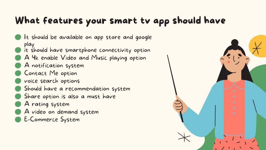 smart tv app development services